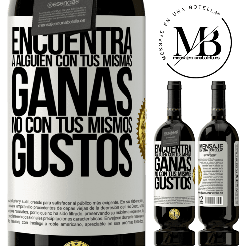 29,95 € Free Shipping   Red Wine Premium Edition MBS® Reserva Look for someone with your same desire, not with your same tastes White Label. Customizable label Reserva 12 Months Harvest 2013 Tempranillo