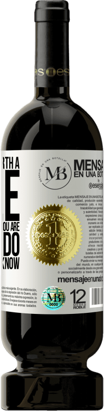 «You are not worth a title. Vouchers for what you are able to do with what you know» Premium Edition MBS® Reserva