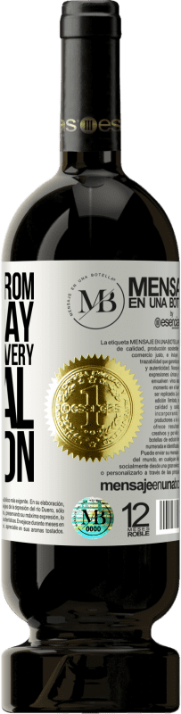 «Keep away from day to day. Open only on a very special occasion» Premium Edition MBS® Reserva