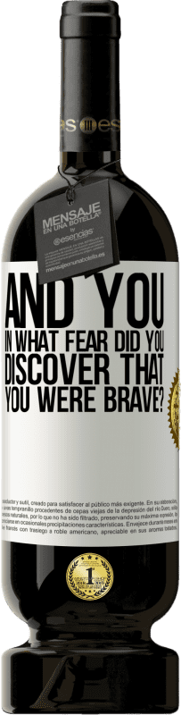 29,95 € Free Shipping | Red Wine Premium Edition MBS® Reserva And you, in what fear did you discover that you were brave? White Label. Customizable label Reserva 12 Months Harvest 2013 Tempranillo