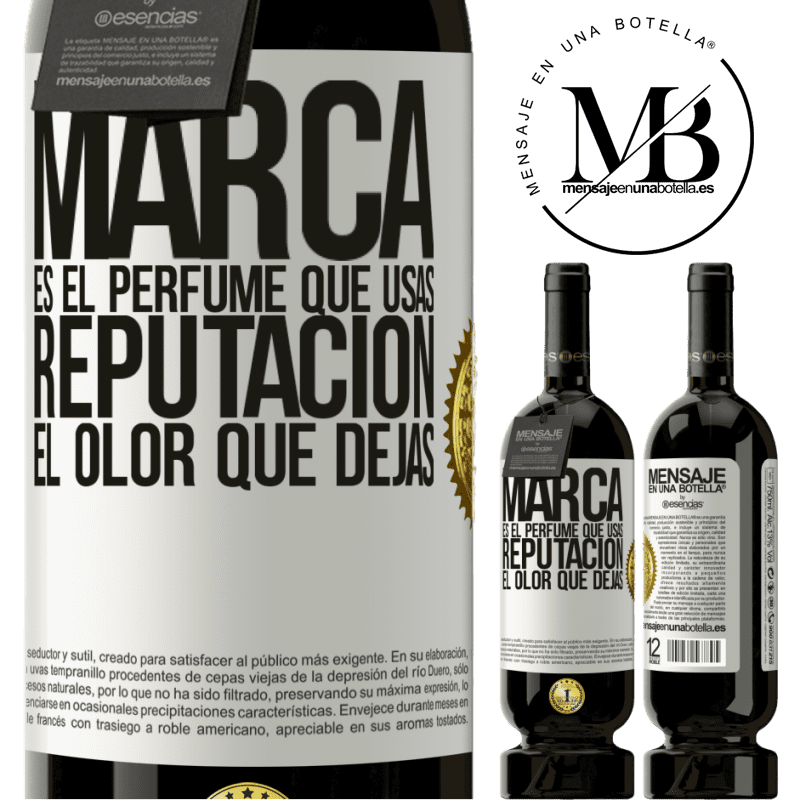 29,95 € Free Shipping | Red Wine Premium Edition MBS® Reserva Brand is the perfume you use. Reputation, the smell you leave White Label. Customizable label Reserva 12 Months Harvest 2013 Tempranillo