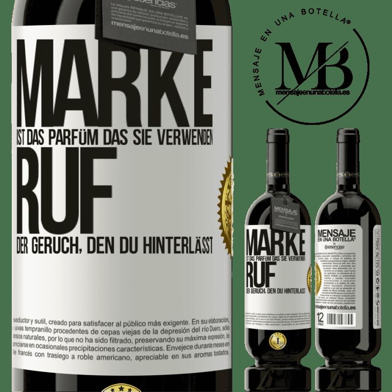 29,95 € Kostenloser Versand   Rotwein Premium Edition MBS® Reserva Marke ist das Parfüm, das Sie verwenden. Ruf, der Geruch, den du hinterlässt Weißes Etikett. Anpassbares Etikett Reserva 12 Monate Ernte 2013 Tempranillo