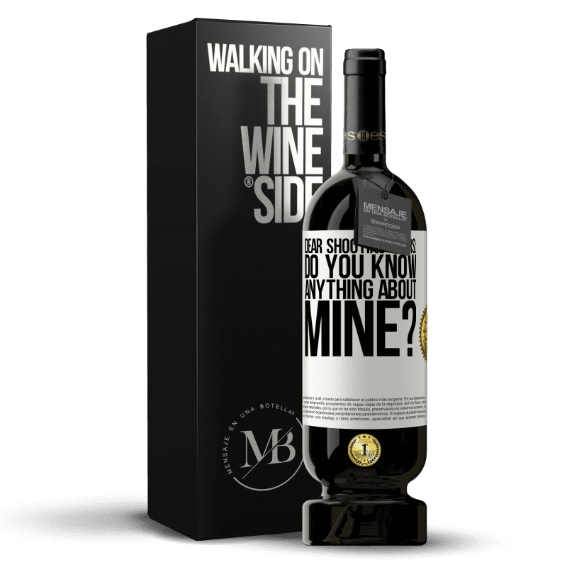 29,95 € Free Shipping | Red Wine Premium Edition MBS® Reserva Dear shooting stars: do you know anything about mine? White Label. Customizable label Reserva 12 Months Harvest 2013 Tempranillo