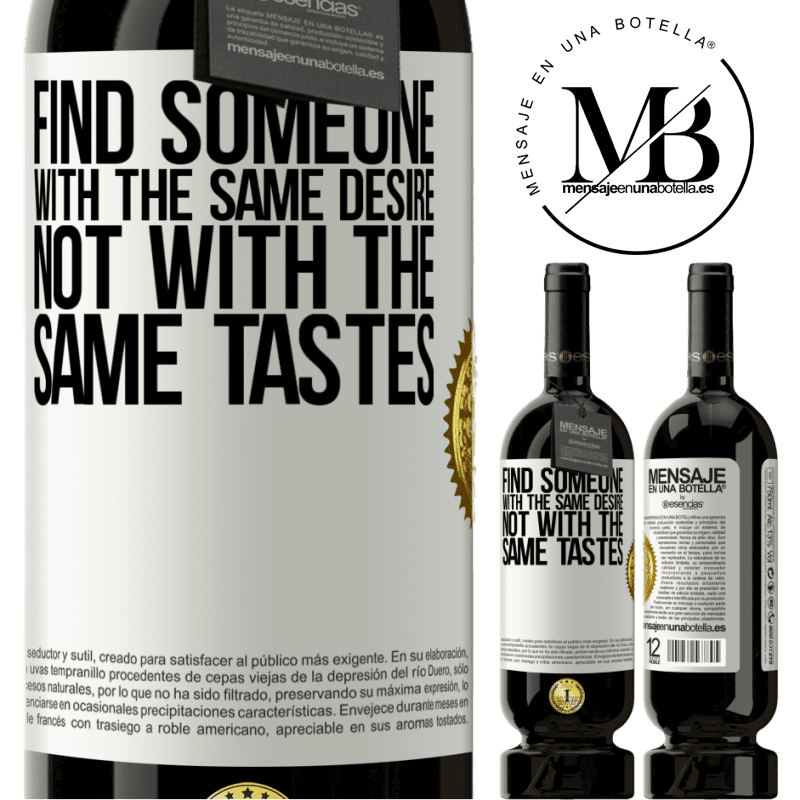 29,95 € Free Shipping | Red Wine Premium Edition MBS® Reserva Find someone with the same desire, not with the same tastes White Label. Customizable label Reserva 12 Months Harvest 2013 Tempranillo