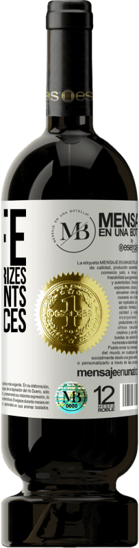 «In life there are no prizes or punishments. Consequences only» Premium Edition MBS® Reserva