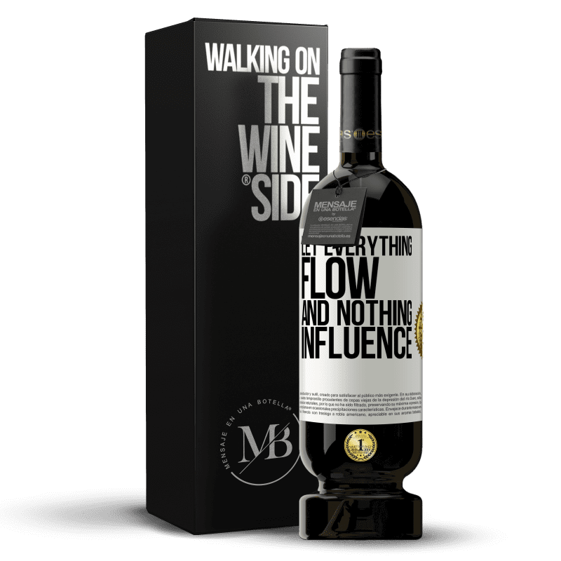 29,95 € Free Shipping | Red Wine Premium Edition MBS® Reserva Let everything flow and nothing influence White Label. Customizable label Reserva 12 Months Harvest 2013 Tempranillo