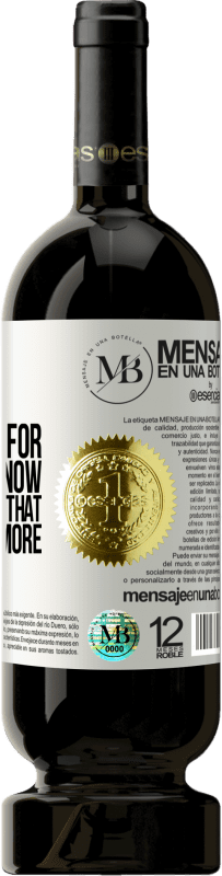 «God, I thank you for what I have now, but I warn you that I'm going for more» Premium Edition MBS® Reserva