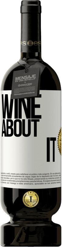 29,95 € Free Shipping | Red Wine Premium Edition MBS® Reserva Wine about it White Label. Customizable label Reserva 12 Months Harvest 2013 Tempranillo