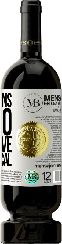 «Life begins at 40. The above is practical» Premium Edition MBS® Reserva