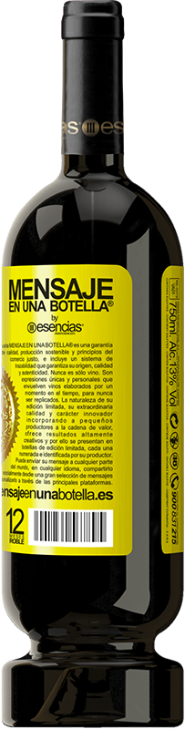 29,95 € Free Shipping | Red Wine Premium Edition MBS® Reserva To whom I judge my way, I lend my shoes Yellow Label. Customizable label Reserva 12 Months Harvest 2013 Tempranillo