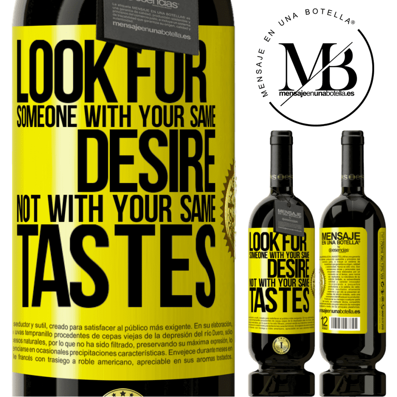 29,95 € Free Shipping | Red Wine Premium Edition MBS® Reserva Look for someone with your same desire, not with your same tastes Yellow Label. Customizable label Reserva 12 Months Harvest 2013 Tempranillo