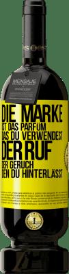 29,95 € Kostenloser Versand   Rotwein Premium Edition MBS® Reserva Marke ist das Parfüm, das Sie verwenden. Ruf, der Geruch, den du hinterlässt Gelbes Etikett. Anpassbares Etikett Reserva 12 Monate Ernte 2013 Tempranillo