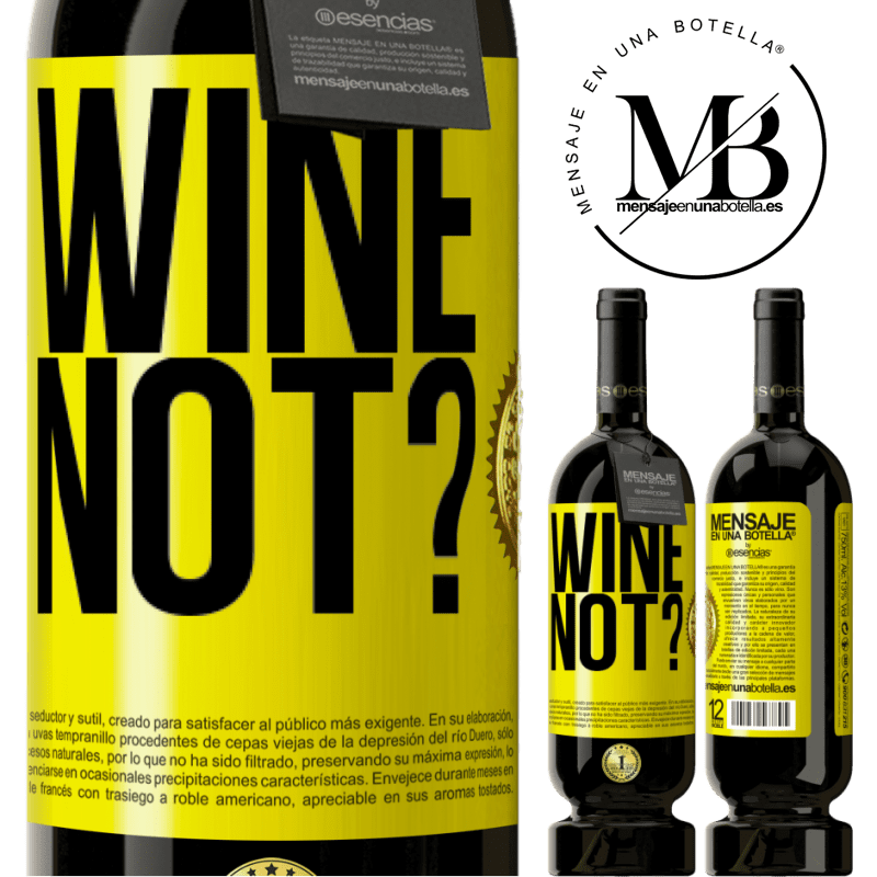 29,95 € Free Shipping | Red Wine Premium Edition MBS® Reserva Wine not? Yellow Label. Customizable label Reserva 12 Months Harvest 2013 Tempranillo