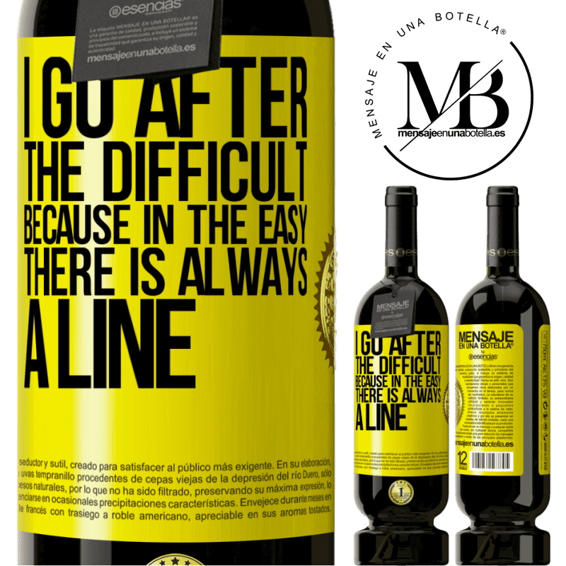 29,95 € Free Shipping | Red Wine Premium Edition MBS® Reserva I go after the difficult, because in the easy there is always a line Yellow Label. Customizable label Reserva 12 Months Harvest 2013 Tempranillo
