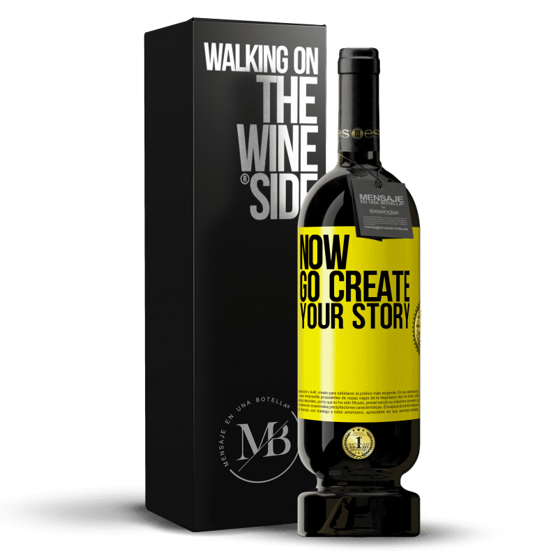 29,95 € Free Shipping   Red Wine Premium Edition MBS® Reserva Now, go create your story Yellow Label. Customizable label Reserva 12 Months Harvest 2013 Tempranillo