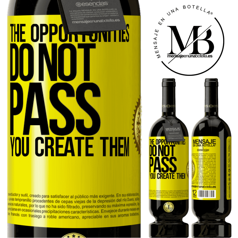 29,95 € Free Shipping | Red Wine Premium Edition MBS® Reserva The opportunities do not pass. You create them Yellow Label. Customizable label Reserva 12 Months Harvest 2013 Tempranillo