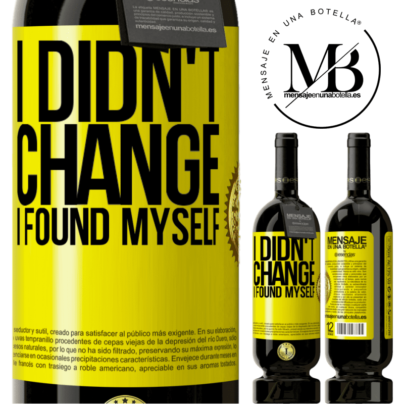 29,95 € Free Shipping | Red Wine Premium Edition MBS® Reserva Do not change. I found myself Yellow Label. Customizable label Reserva 12 Months Harvest 2013 Tempranillo
