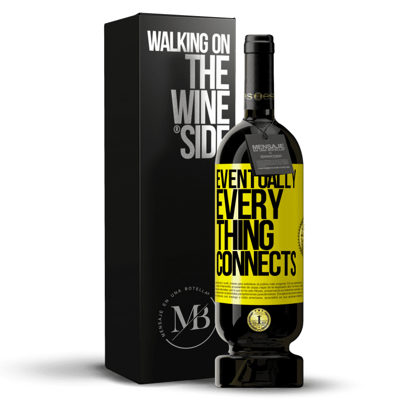 29,95 € Free Shipping | Red Wine Premium Edition MBS® Reserva Eventually, everything connects Yellow Label. Customizable label Reserva 12 Months Harvest 2013 Tempranillo