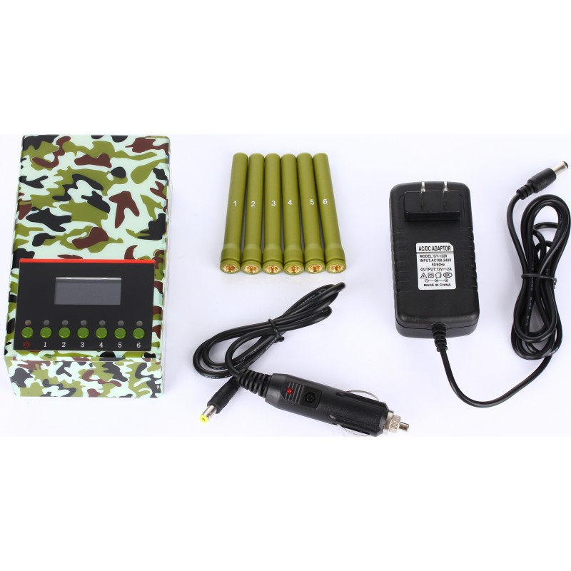 202,95 € Free Shipping   Cell Phone Jammers Army quality signal blocker Cell phone GSM