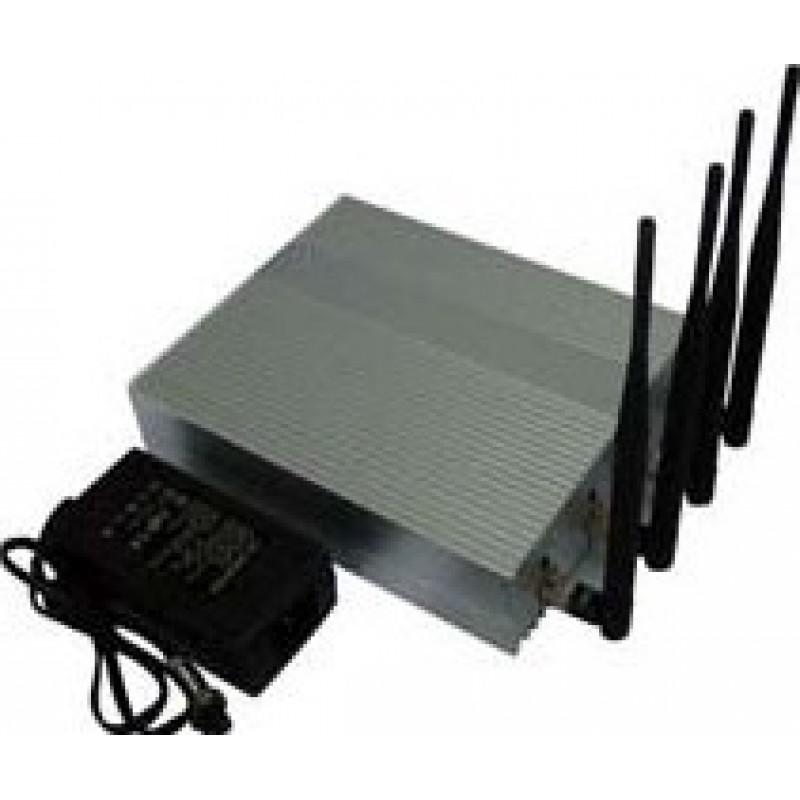 Bloqueurs de Téléphones Mobiles 4 antennes. Puissant bloqueur de signal GSM
