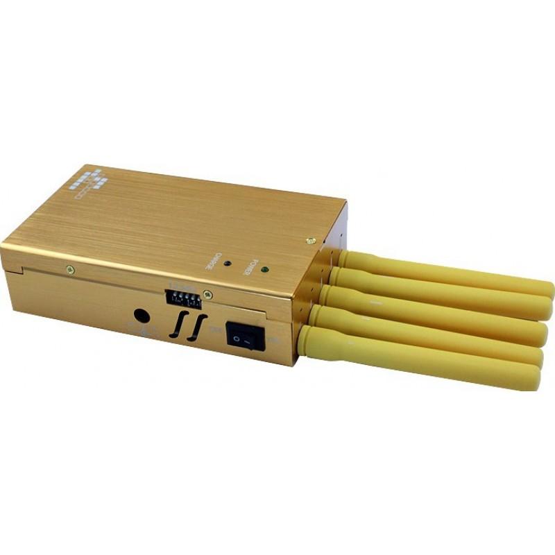 Cell Phone Jammers Portable signal blocker. 5 Antennas Portable