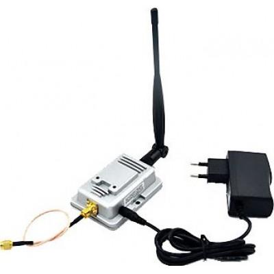 2W WiFi signal booster. Wireless broadband amplifier