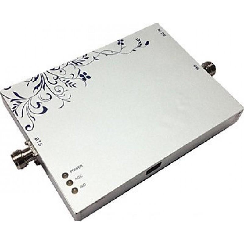 Amplificateurs de Signal Amplificateur de signal de téléphone cellulaire. Deux antennes d'intérieur. Kit complet répéteur de téléphone mobile GSM
