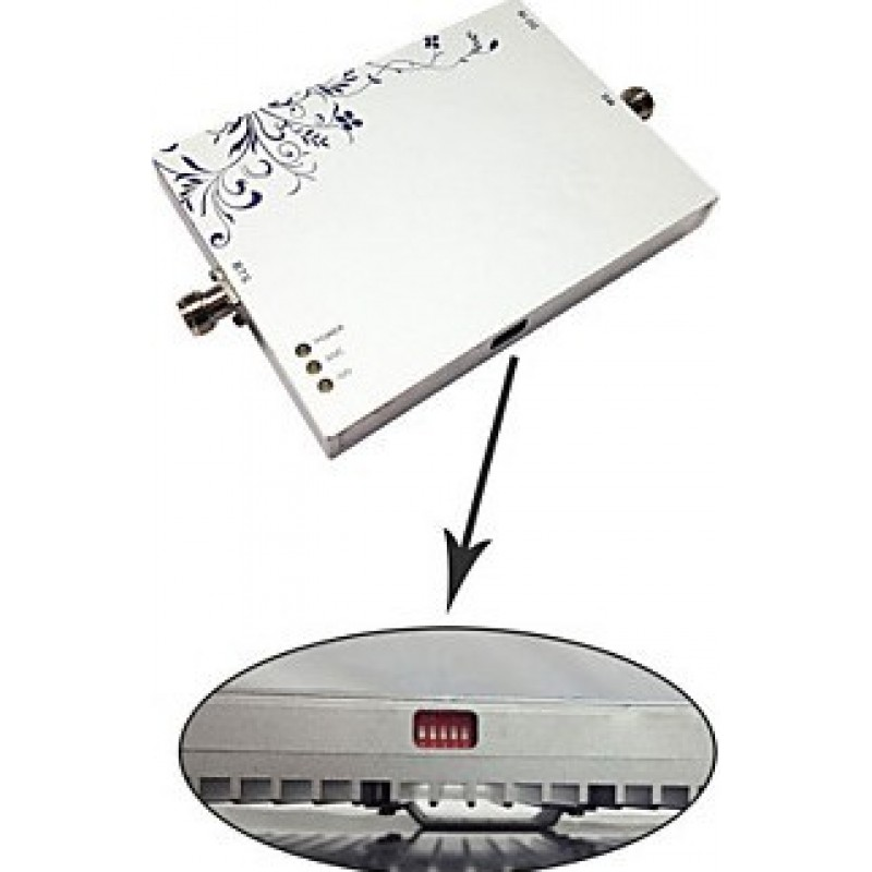 Signal Boosters Cell phone signal booster. Two indoor antennas. Full Kit mobile phone repeater GSM
