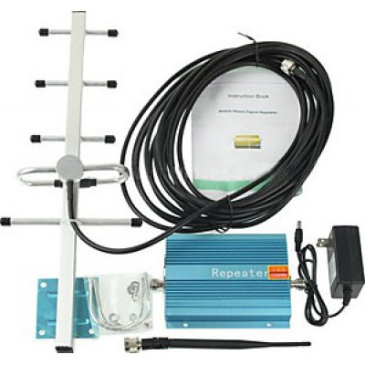 85,95 € Free Shipping | Signal Boosters 60dB Gain cell phone signal booster. Amplifier kit GSM 500m2