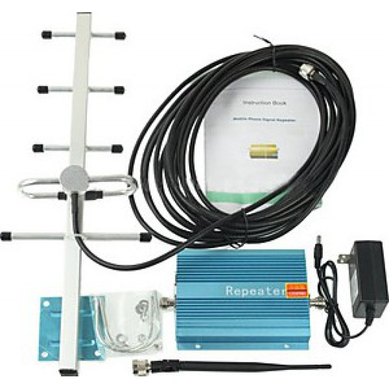 85,95 € Free Shipping   Signal Boosters 60dB Gain cell phone signal booster. Amplifier kit GSM 500m2