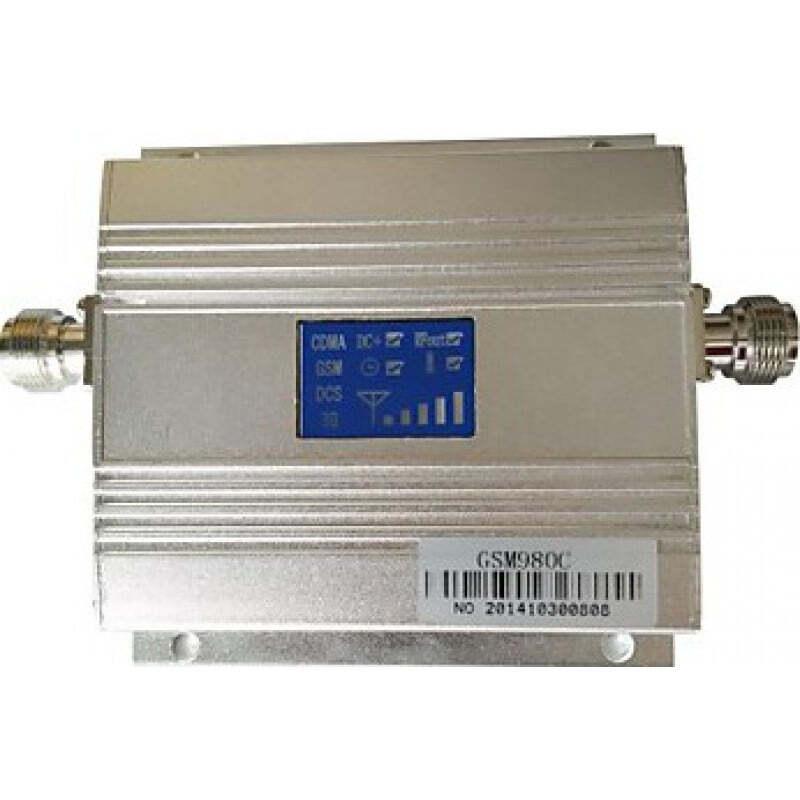 Amplificateurs de Signal Amplificateur de signal de téléphone cellulaire. Kit amplificateur et antenne. Affichage LCD GSM