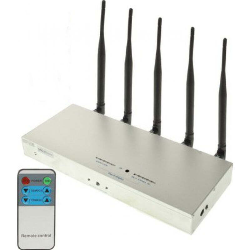 Cell Phone Jammers Remote Control signal blocker GSM 25m