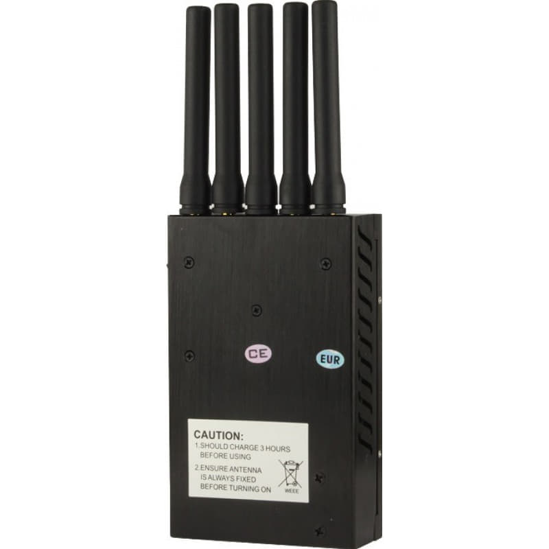129,95 € Free Shipping | Cell Phone Jammers Portable signal blocker GSM Portable 20m