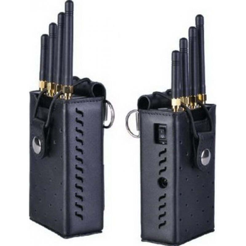 122,95 € Envoi gratuit | Bloqueurs de Téléphones Mobiles Bloqueur de signal portable haute puissance. Couleur grise Portable 15m