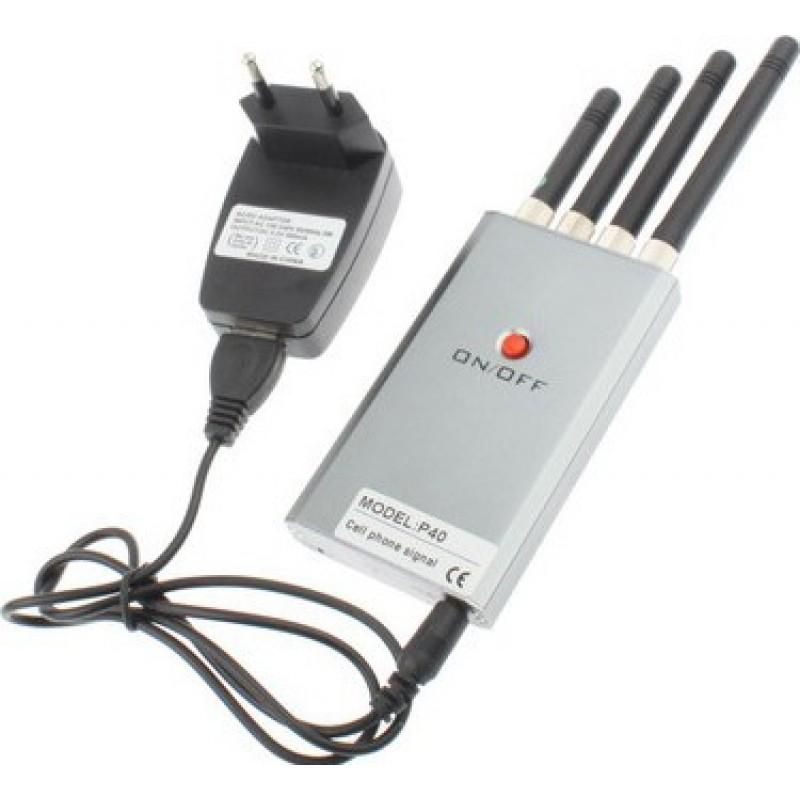 57,95 € Бесплатная доставка | Блокаторы мобильных телефонов Мини портативный блокатор сигналов GSM Portable 10m