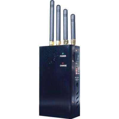 135,95 € Envío gratis | Bloqueadores de Teléfono Móvil Bloqueador de señal portátil de alta potencia GSM Portable 20m