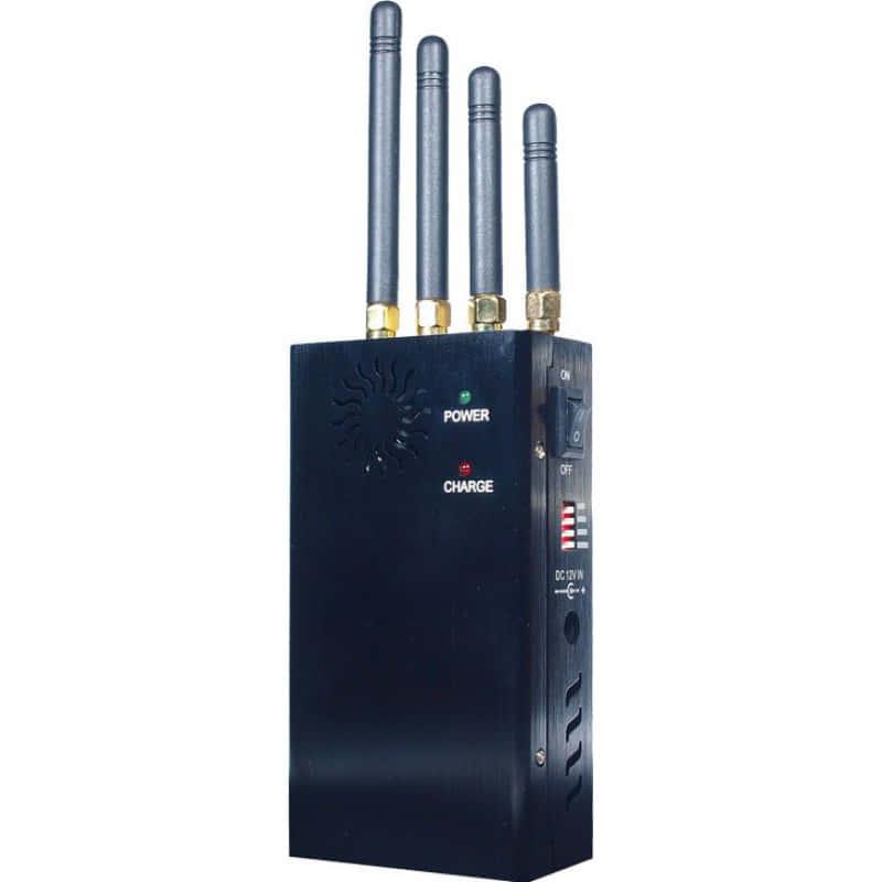 135,95 € 送料無料 | 携帯電話ジャマー 高出力ポータブル信号ブロッカー GSM Portable 20m