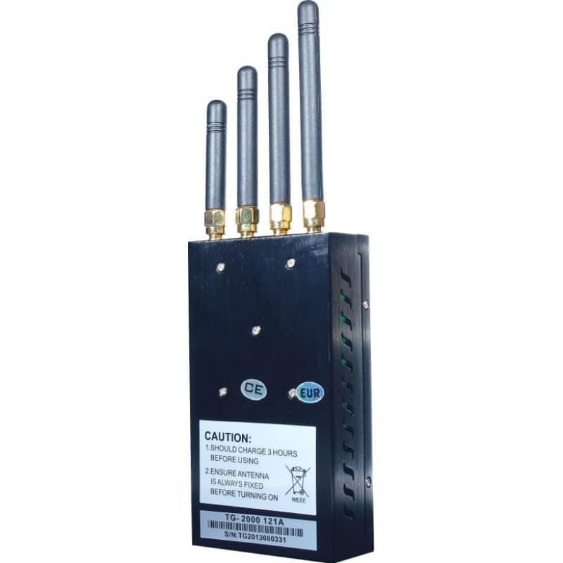 135,95 € Envoi gratuit | Bloqueurs de Téléphones Mobiles Bloqueur de signal portable haute puissance GSM Portable 20m