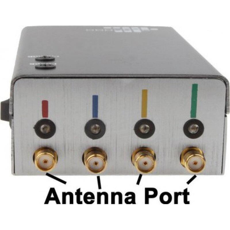 Блокаторы мобильных телефонов Портативный блокатор сигналов. Серебряный цвет GSM Portable 20m