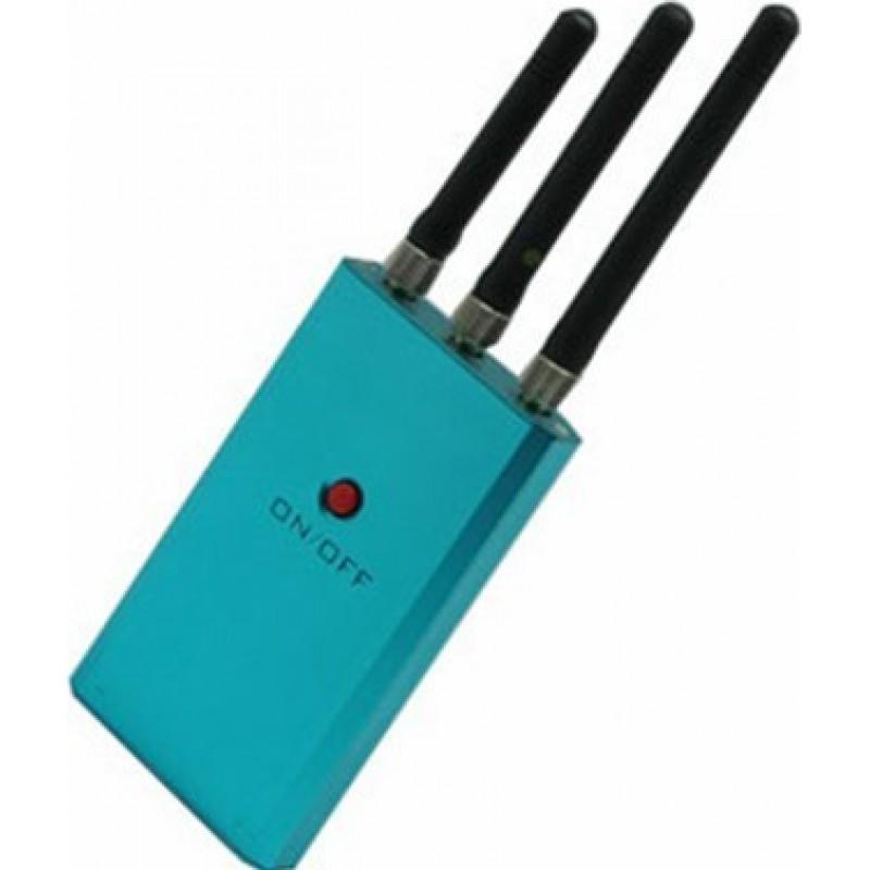 54,95 € 送料無料 | 携帯電話ジャマー ミニ信号ブロッカー。中電力スクランブラー