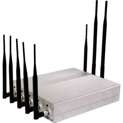 Bloqueadores de Teléfono Móvil Bloqueador de señal de escritorio. 8 antenas Desktop