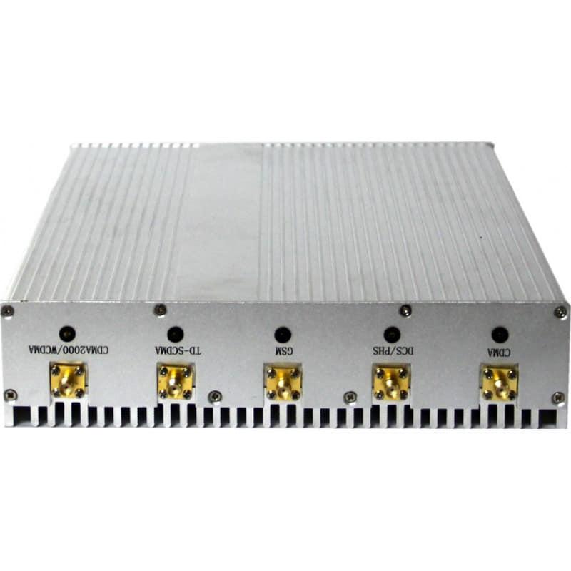 手机干扰器 桌面信号拦截器。 8个天线 Desktop