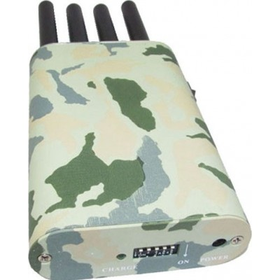 Camouflage cover. Portable signal blocker
