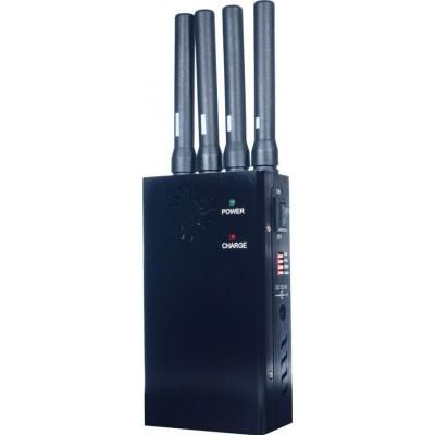 135,95 € 免费送货 | 手机干扰器 便携式信号阻断器。广谱扰码器 Portable