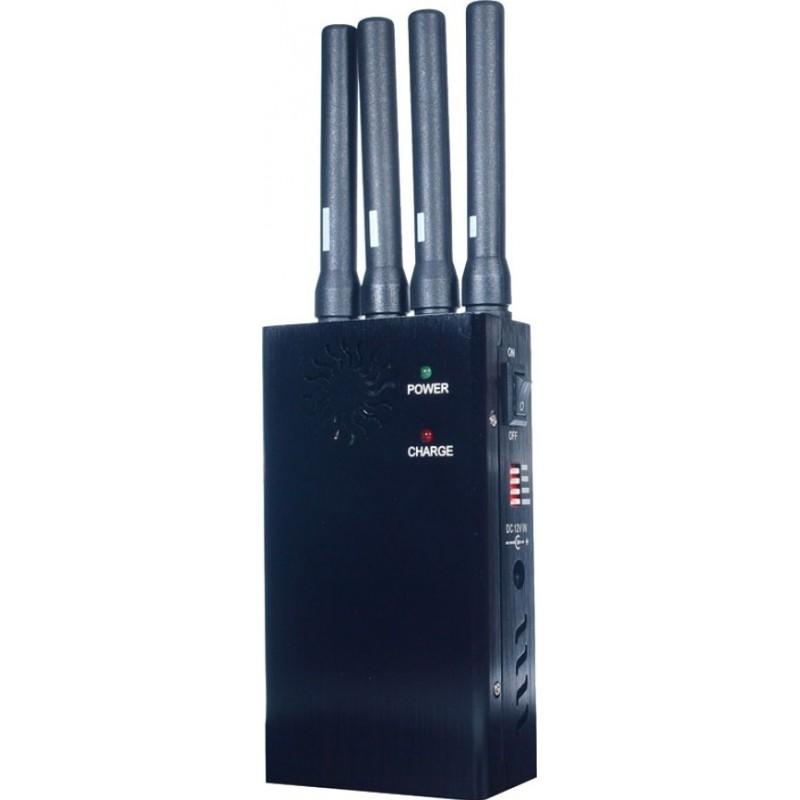 135,95 € Free Shipping   Cell Phone Jammers Portable signal blocker. Broad spectrum scrambler Portable