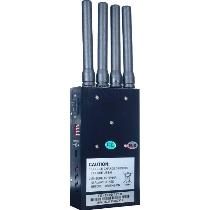 135,95 € Envoi gratuit   Bloqueurs de Téléphones Mobiles Bloqueur de signal portable. Brouilleur à large spectre Portable
