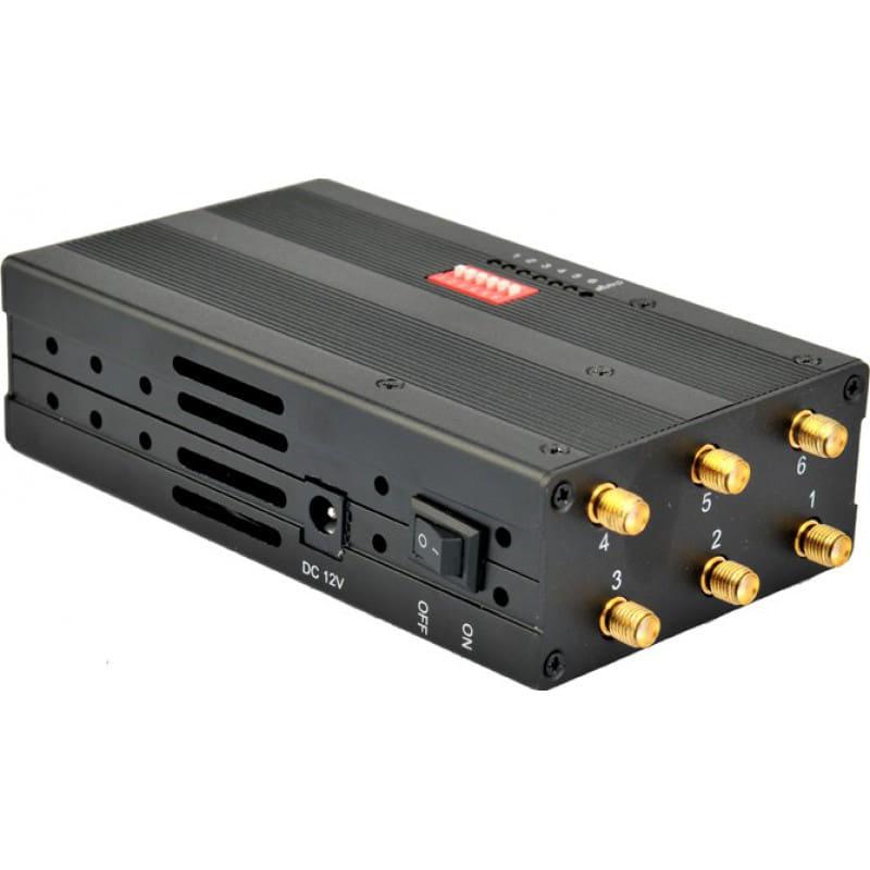 172,95 € 免费送货 | 手机干扰器 手持信号阻断器。 6频段扰乱 3G Handheld