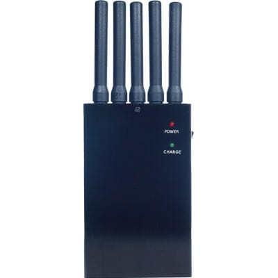135,95 € Envio grátis | Bloqueadores de Celular 5 antenas. Bloqueador de sinal sem fio 3G