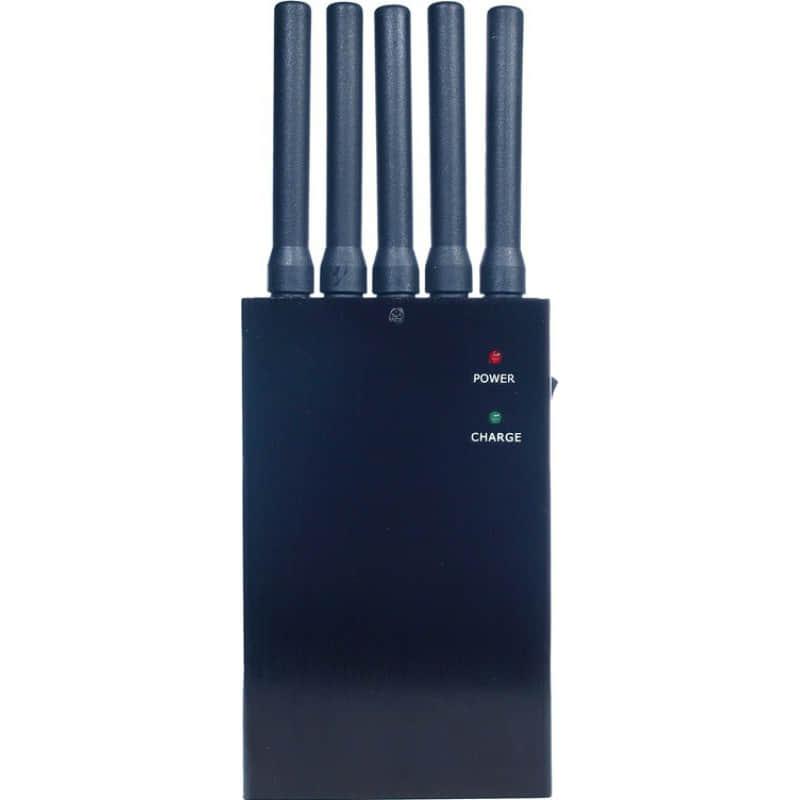 135,95 € 免费送货 | 手机干扰器 5天线。无线信号拦截器 3G