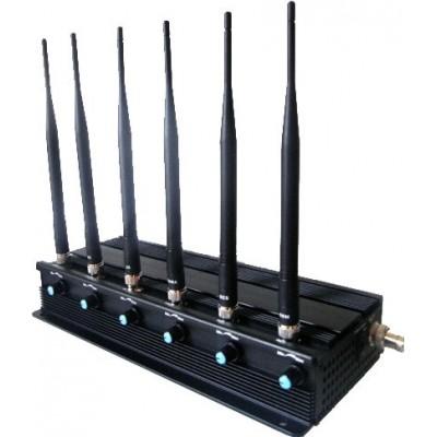 259,95 € 免费送货 | 手机干扰器 可调节信号阻断器 4G